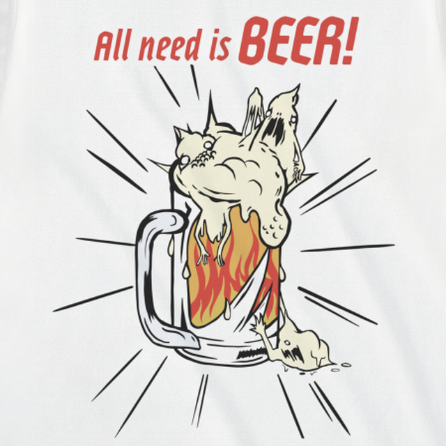 All need is BEER L/S T