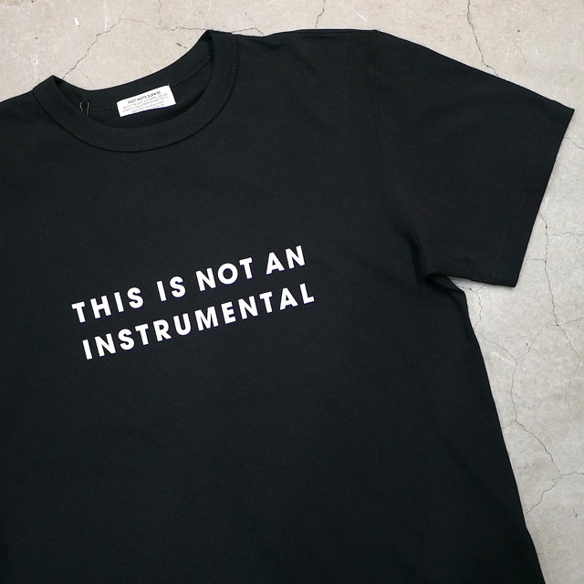SILENT POETS / T-SHIRTS(THIS IS NOT AN INSTRUMENTAL)