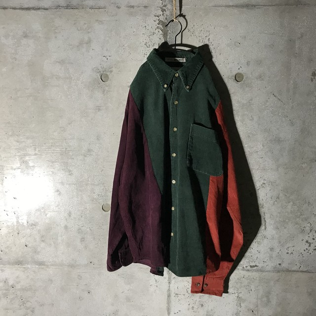 [used] autumn colours switching shirt