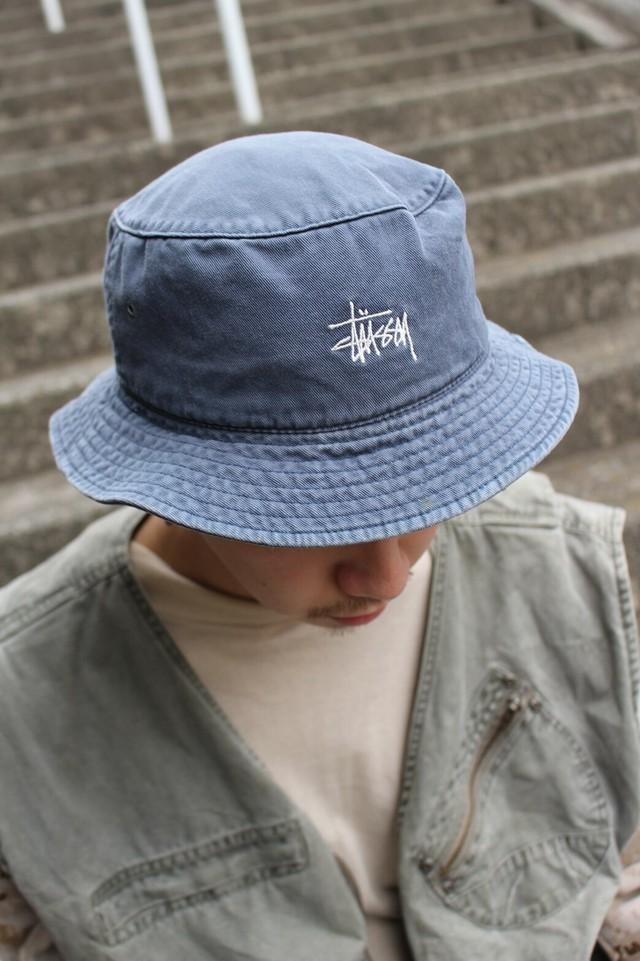 STUSSY Logo Bucket Hat