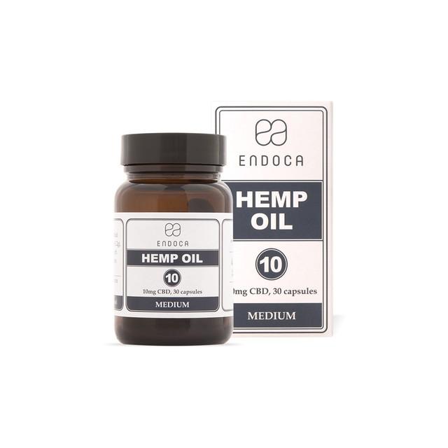 ENDOCA Capsules Hemp Oil 300mg CBD