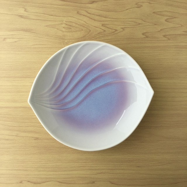 【有田焼】紫結晶 清風銘々皿