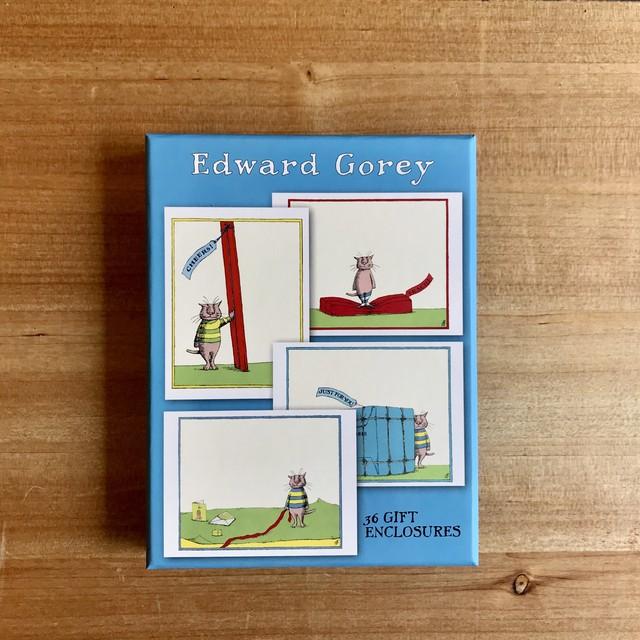 エドワード・ゴーリーのギフトカードセット