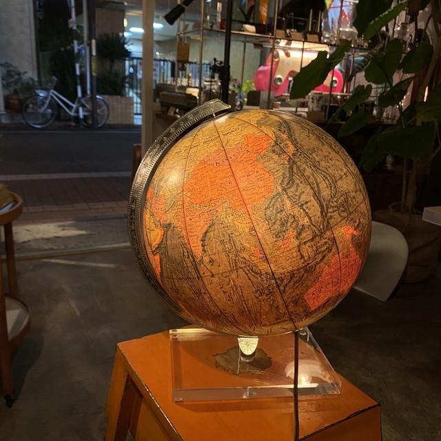 70's Replogle/リプルーグル WORLD VISION SERIES ヴィンテージライディンググローブ 地球儀 英語版