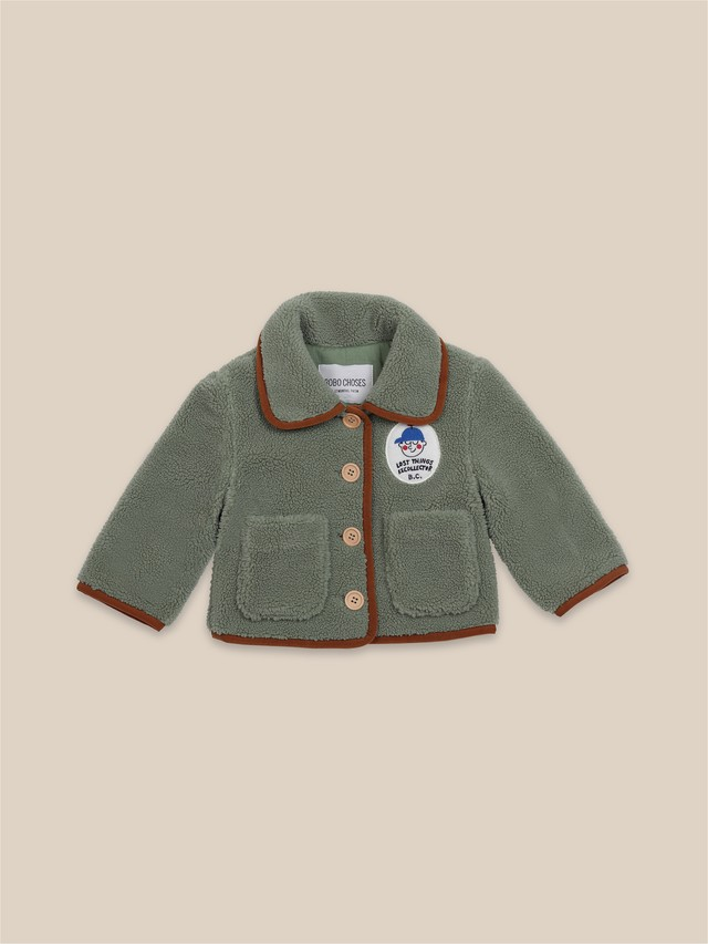 【先行予約】bobochoses boy patch sheepskin jacket ジャケット