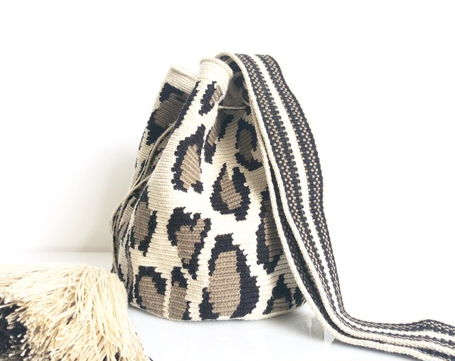 ワユーバッグ (Wayuu bag) Luxe line 2way with Filigrana Mサイズ