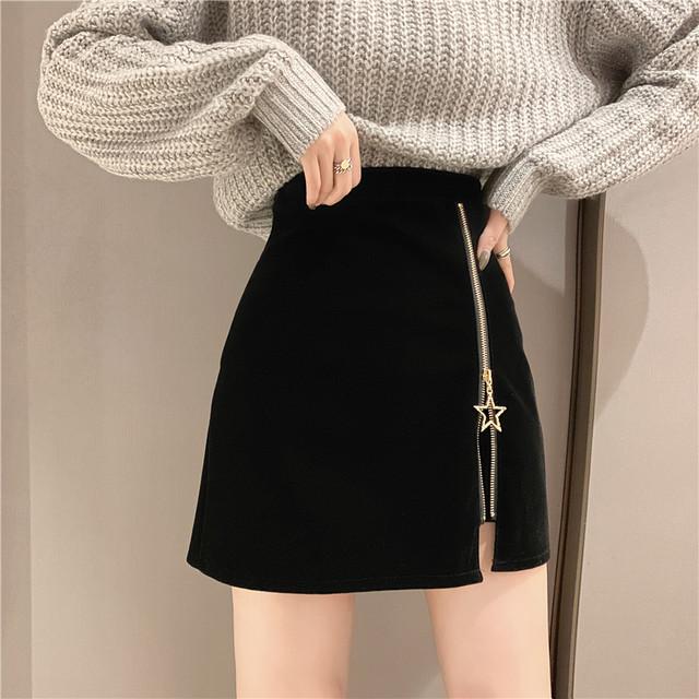 【bottoms】スリット厚くて4色展開合わせやすいスカート 23037267