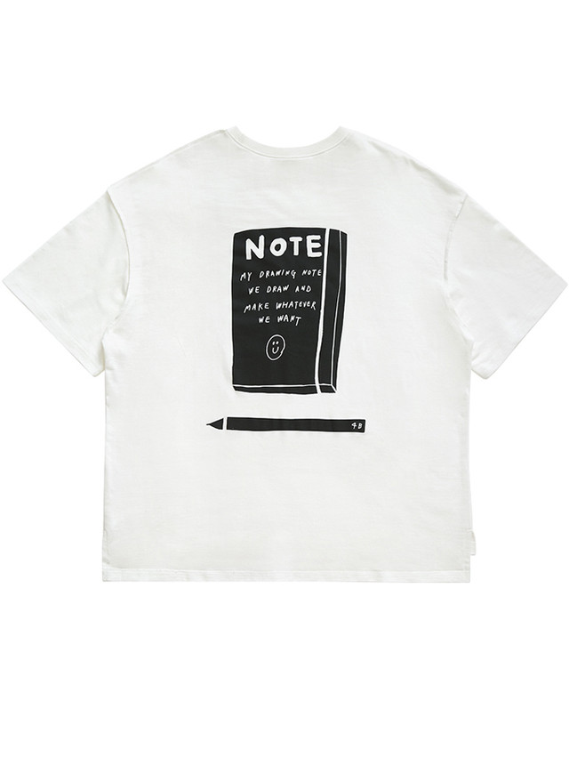 【inapsquare】T SHIRT NOTE