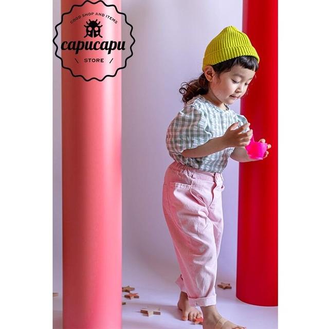 «予約» pastel pants 2Colors パステルカラーパンツ