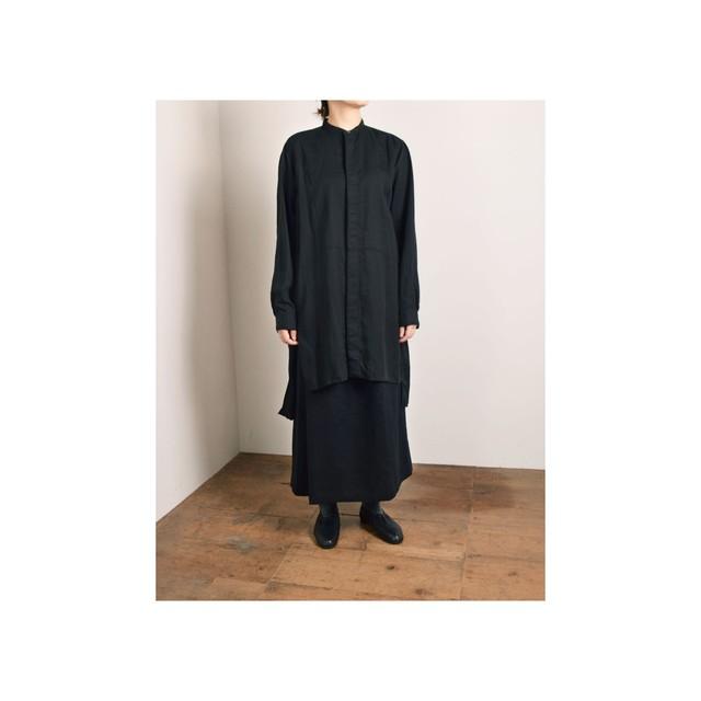 suzuki takayuki スズキタカユキ ロングシャツ black 【size 02】