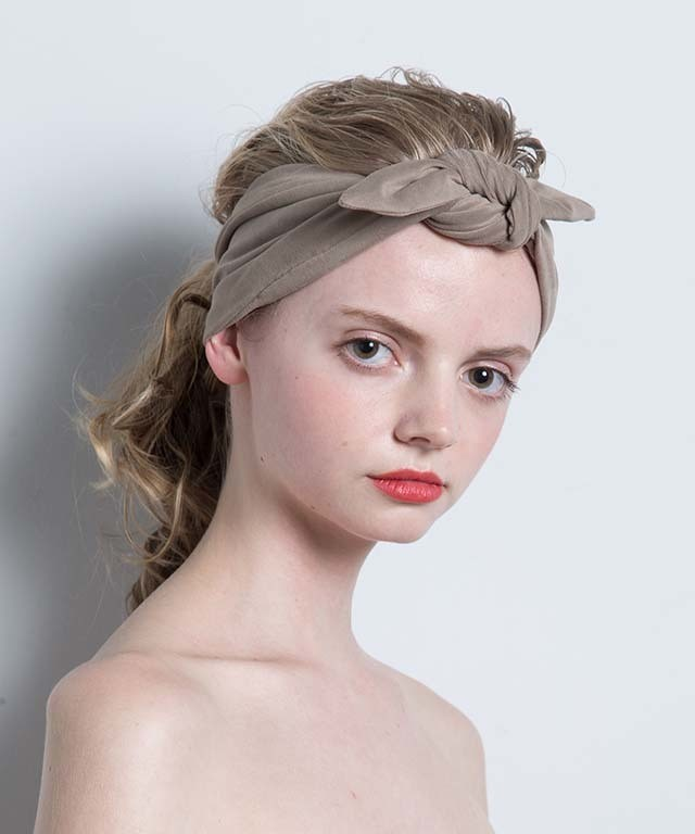 Joe18SS-30 suede fabric turban