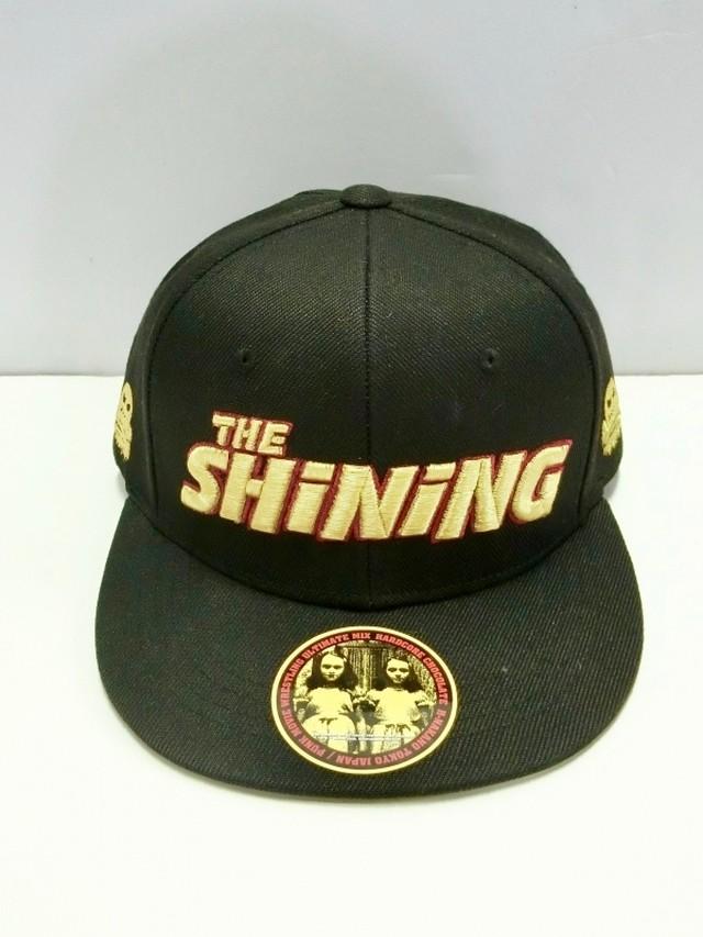 シャイニング-THE SHiNiNG-フラットバイザーキャップ / ハードコアチョコレート