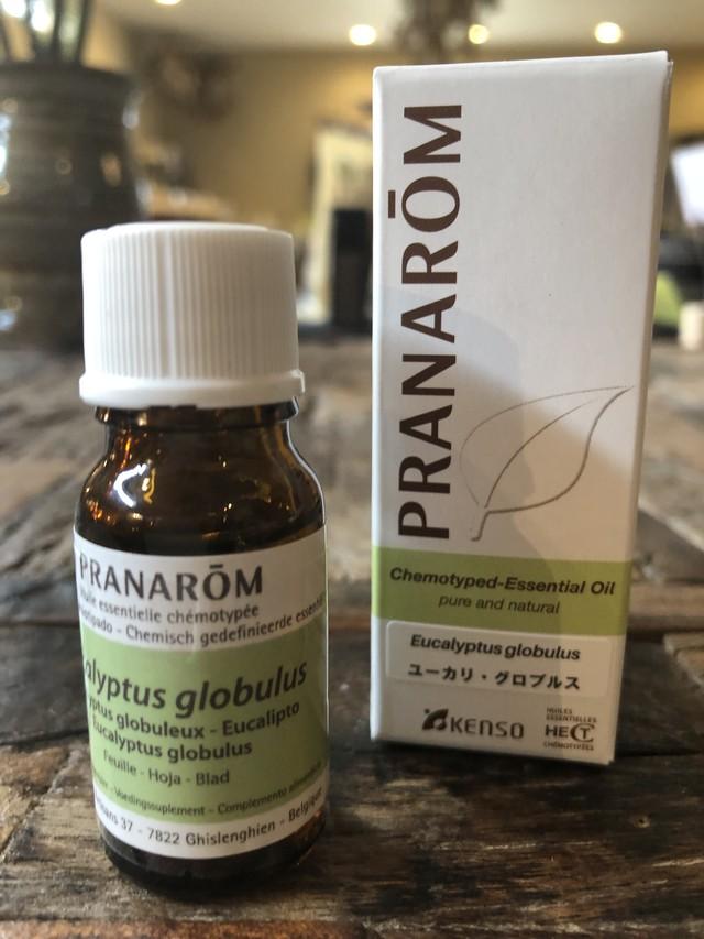 ユーカリグロブルス<天然植物100%>精油PRANAROM社 10ml