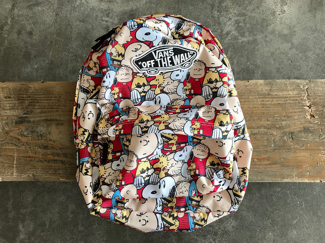 VANS × PEANUTS REALM BACKPACK (MULTI)