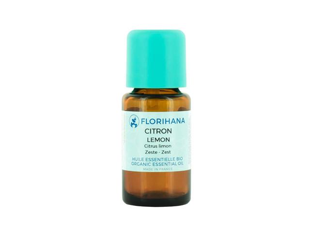 【Florihana】レモンオーガニック 15g(精油<エッセンシャルオイル>)