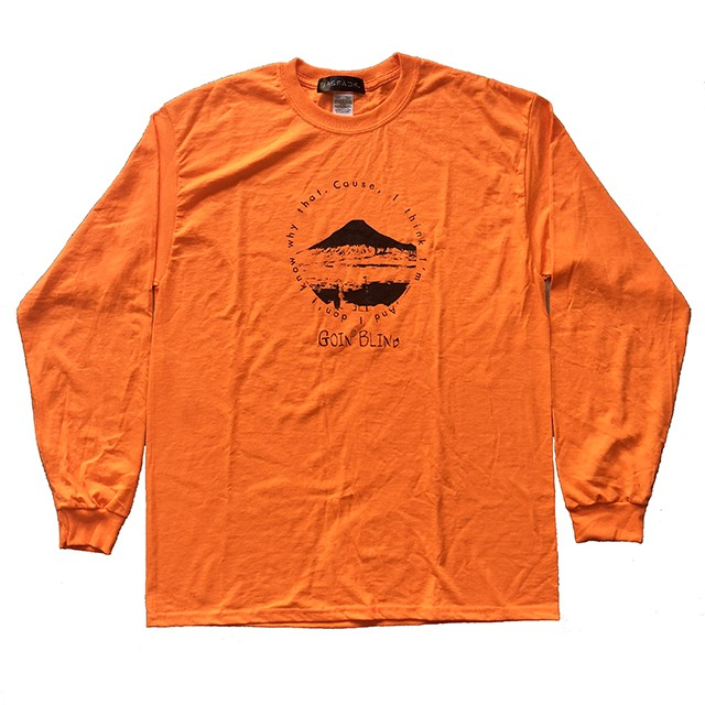 Goin' Blind Long Sleeve Tee (JFK-018) - Orange