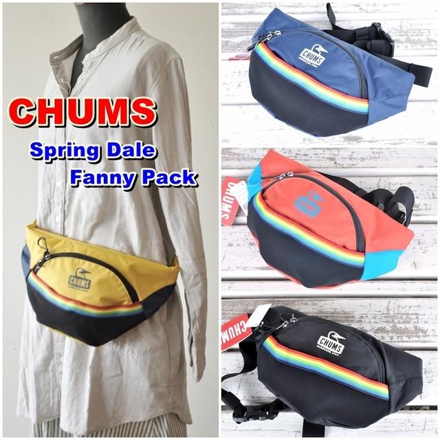 チャムス CHUMS ボディバッグ ウエストポーチ スプリング スプリングデールファニーパック CH60-2742 Spring Dale Fanny Pack