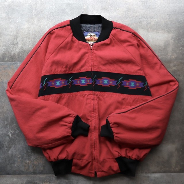 made in USA native design blouson