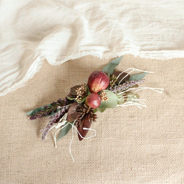 Hair ornament for Fig tree Bouquet