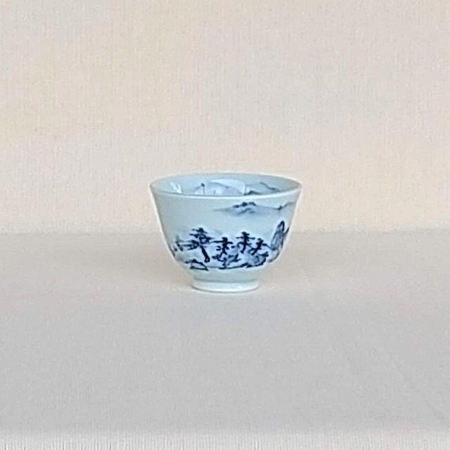 伐太郎窯 山水 小仙茶