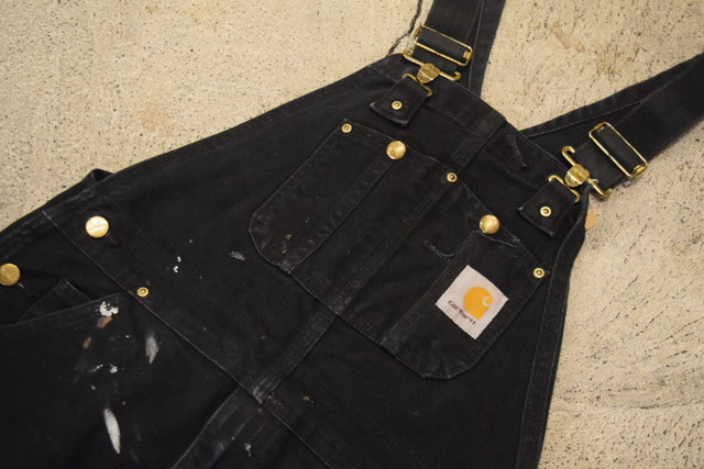 USED 00s carhartt Duck Overall O0599