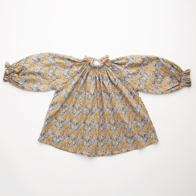 Nellie Quats/mother may i blouse-liberty print