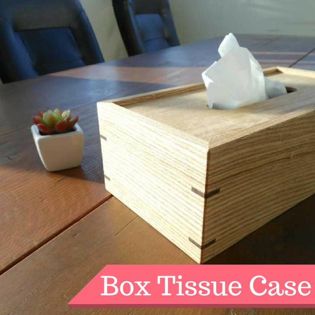 【BOXティッシュケース】 - メイン画像
