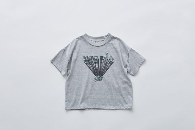 【21SS】eLfinFolk(エルフィンフォルク)utopiaTee top grayTシャツ (F)