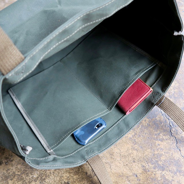 Water proof canvas Bag(olive)