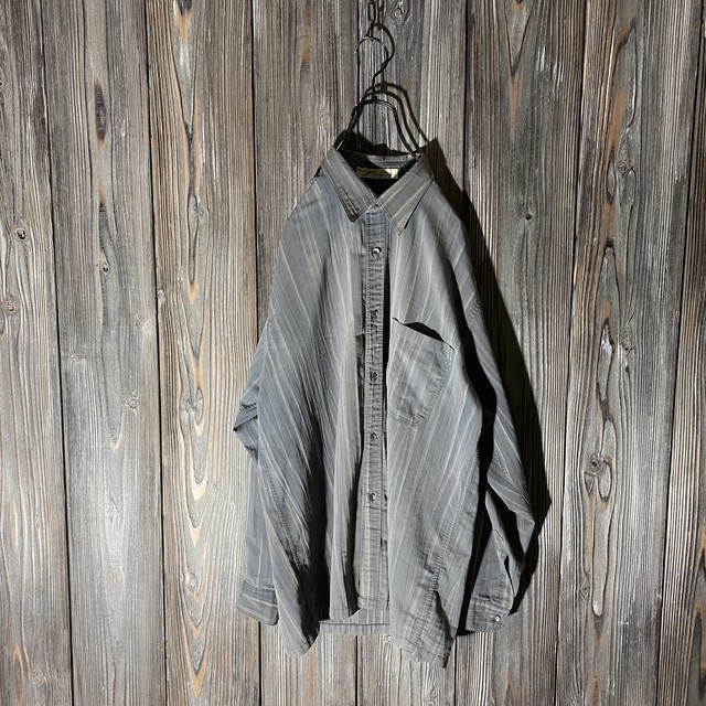[used]gray like wood design shirt