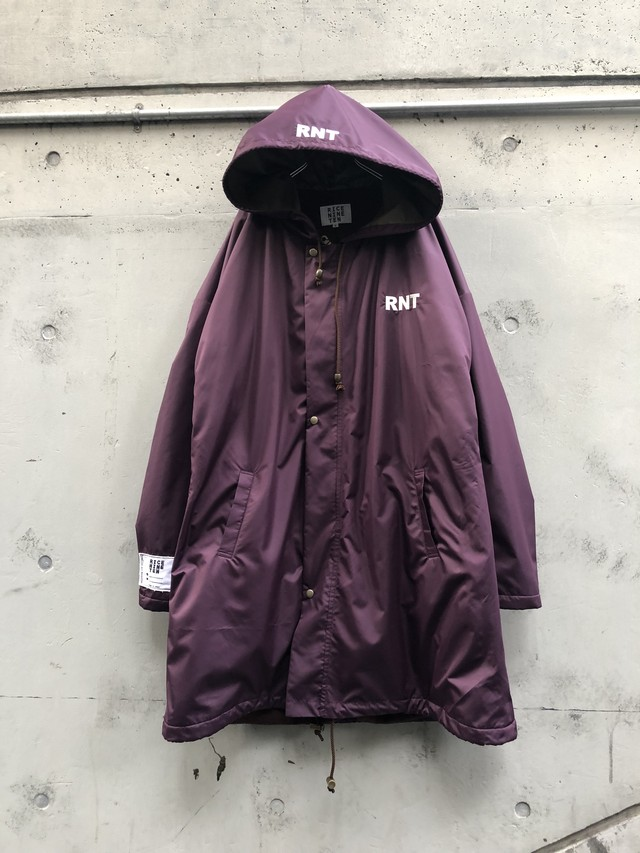 【RICE NINE TEN】RNT OVER COAT purple