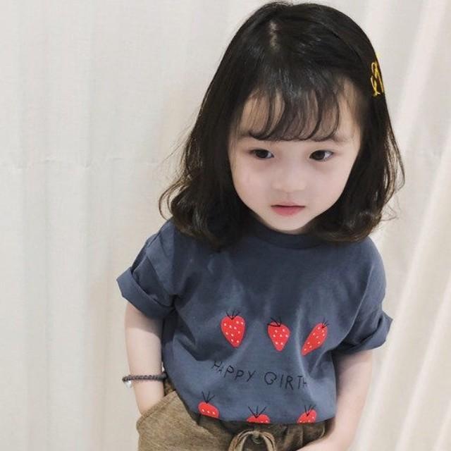 【トップス】ファッションカートゥーンラウンドネックTシャツ27201291