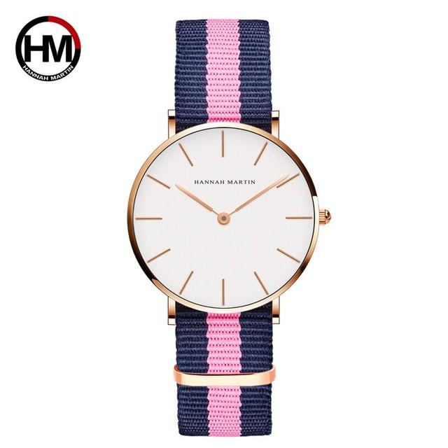 ジャパンクォーツシンプルな女性のファッション時計ホワイトレザーストラップレディース腕時計ブランド防水腕時計36mmCB36-F7