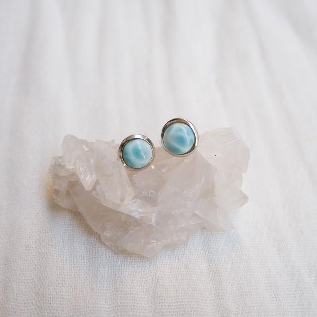 Larimar Pierced Earring《18388250》