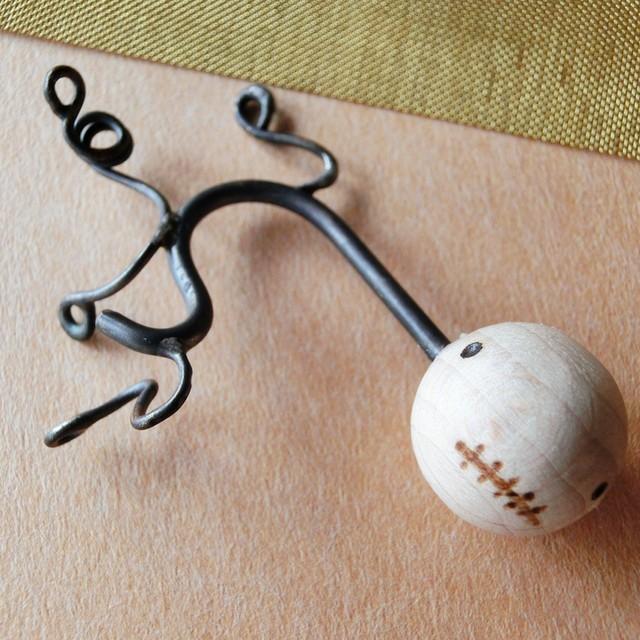 【リュウグウノツカイ】a  ~ オーナメント ☆ 真鍮 木 #1439
