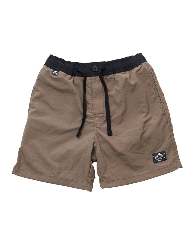 SUNS WASHED NYLON SWIM SHORTS[RSW015]