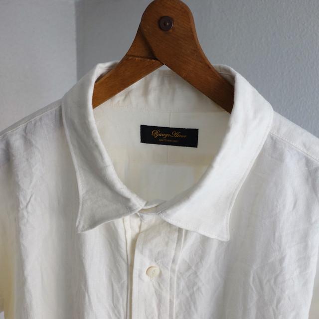 classic premiumlinen tailor shirt / naturalwhite