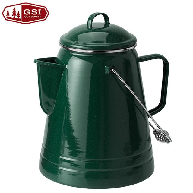 新品 GSI 36cup Coffee boiler -Green