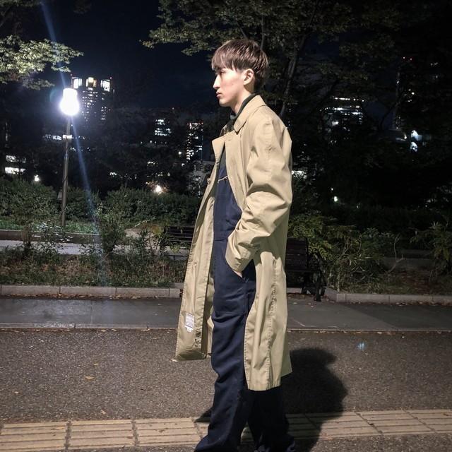 80's  soutien collar coat