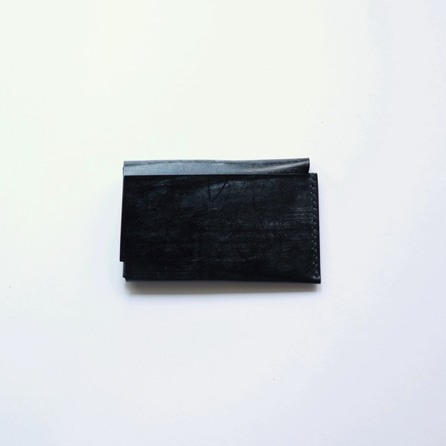 cardcase - ブライドル -  bridle leather - bk