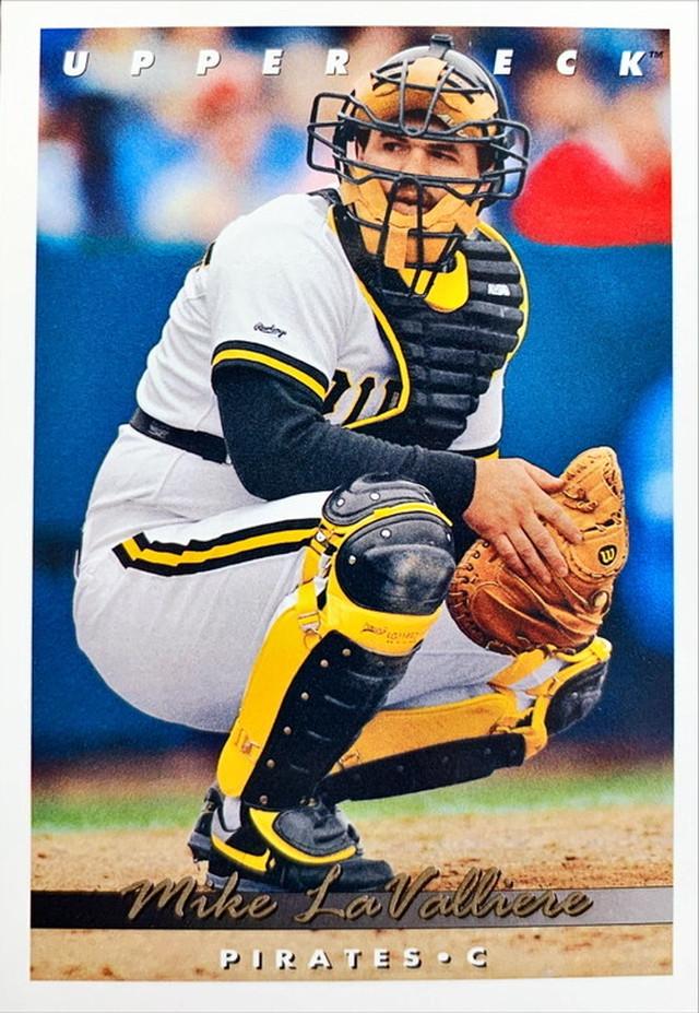 MLBカード 93UPPERDECK Mike La Valliere #120 PIRATES