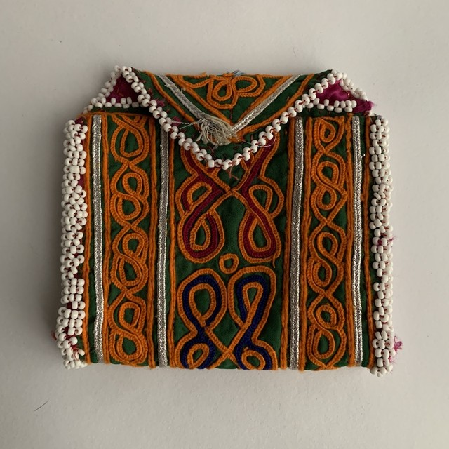 Vintage Pouch _03(アフガン ヴィンテージ 手刺繍ポーチ/財布)