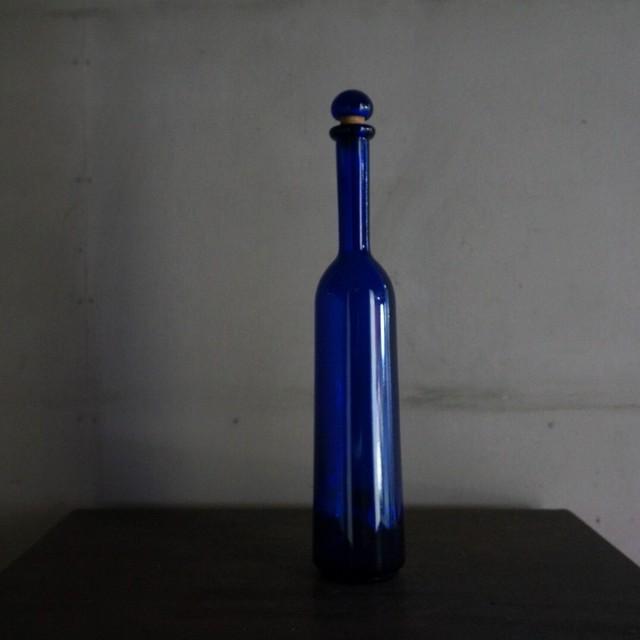 古いフランスのガラス瓶