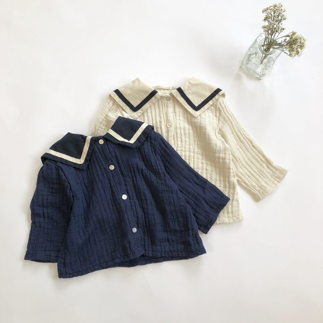 《 125 》再入荷 sailor blouse