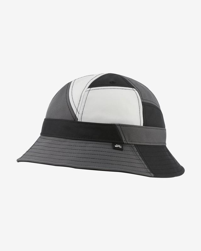 NIKE SB BUCKET HAT BLACK/WHITE/DARK GREY