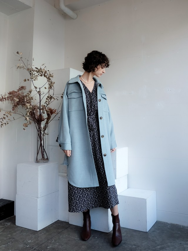 CPO jacket coat(winter blue)