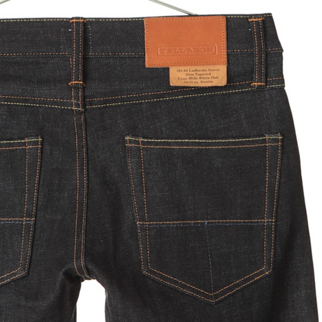 "TELLASON ""Ladbroke Grove"" -Slim Tapered 14.75oz"