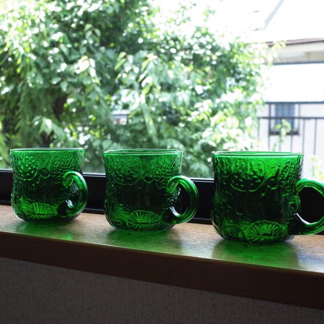 Nuutajarvi/ヌータヤルヴィ Fauna/ファウナ 持ち手付きカップ