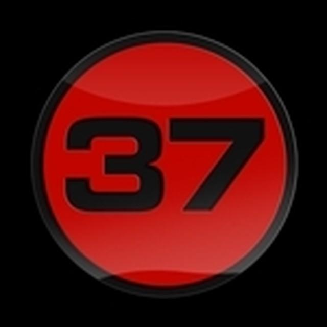 ゴーバッジ(3D)(LC0112 - 3D 37 RED B) - メイン画像