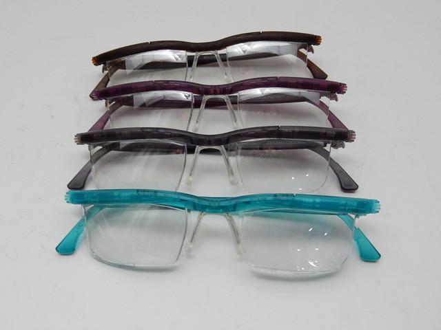 """""""見えづらいを自分で見えるにする""""自分で度数調節できるメガネ アドレンズ"""